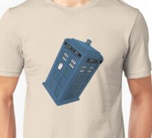 Flying TARDIS Unisex T-Shirt