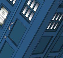 Flying TARDIS Sticker
