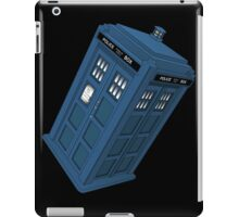 Flying TARDIS iPad Case/Skin