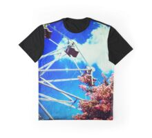 Kiss the Blue Sky Graphic T-Shirt
