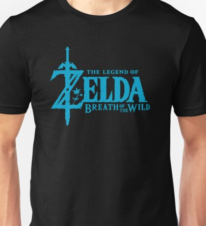 Breath of the Wild Logo Unisex T-Shirt