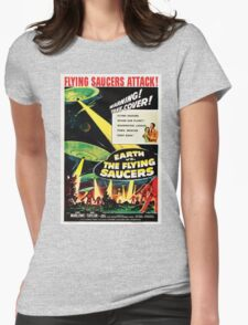 Earth vs. The Flying Saucers Womens Fitted T-Shirt