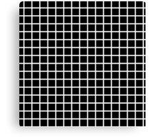 black graph Canvas Print