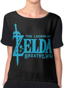 Breath of the Wild Logo Chiffon Top