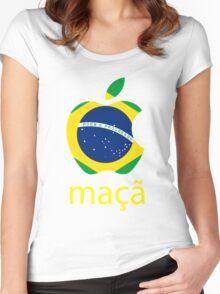 Maçã Women's Fitted Scoop T-Shirt