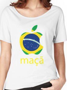 Maçã Women's Relaxed Fit T-Shirt