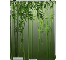 Green Bamboo Forest iPad Case/Skin