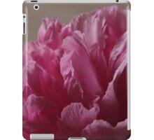 pink peony 2 iPad Case/Skin