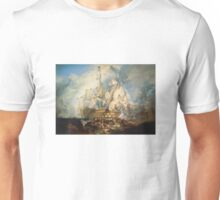 J. M. W. Turner, The Battle of Trafalgar Unisex T-Shirt