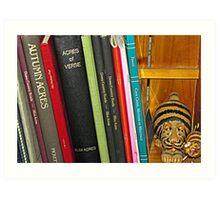 Acres of Books Art Print