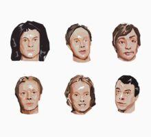 Arcade Fire Bobbleheads by Alexandra Kelly