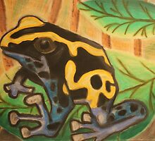 Frog Pastel by alecL9