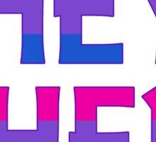 I GO BY THEY/THEM (V.2) Sticker