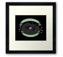 Snakes are Friends - Not Fangs Framed Print