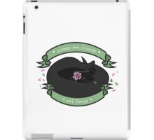 Snakes are Friends - Not Fangs iPad Case/Skin