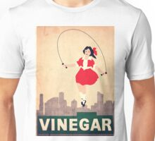 Skipping Girl Vinegar Unisex T-Shirt