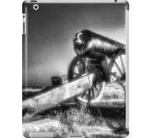 Navy Circle iPad Case/Skin