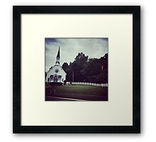 Our Lady of the Spring Framed Print