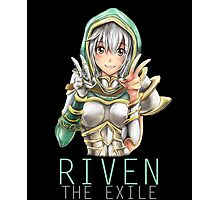 Kawaii Redeemed Riven Photographic Print