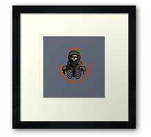 Mars 2030 - One Way Ticket To Paradise Framed Print
