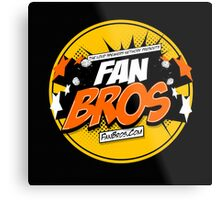 FanBros Full Logo Metal Print