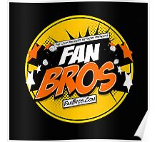 FanBros Full Logo Poster