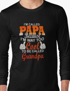 Papa Ever Mens Long Sleeve T-Shirt
