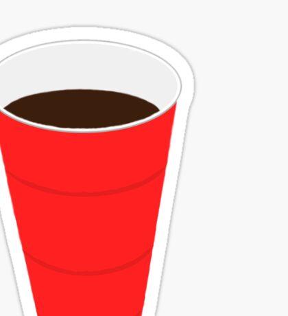 Solo Cup Sticker