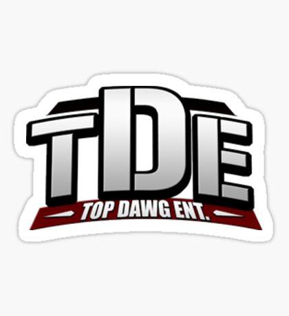 TDE logo Sticker