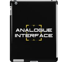 Person of Interest - Analogue Interface iPad Case/Skin