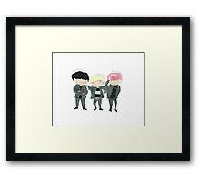 SHINee Dibidibidis Framed Print