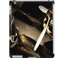 Beautiful Plane black and gold  iPad Case/Skin