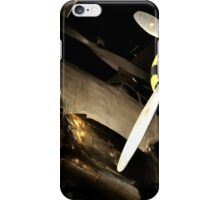 Beautiful Plane black and gold  iPhone Case/Skin