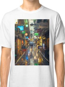 Rainy Day in Bohemian Melbourne Classic T-Shirt