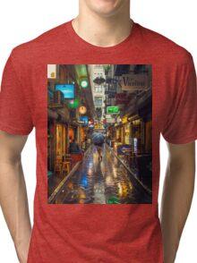 Rainy Day in Bohemian Melbourne Tri-blend T-Shirt