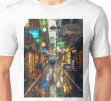 Rainy Day in Bohemian Melbourne Unisex T-Shirt