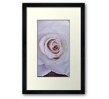 MARBLE ROSE Framed Print