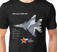 Fulcrum-F Mikoyan MiG-35 Unisex T-Shirt