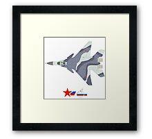 Fulcrum-F Mikoyan MiG-35 Framed Print