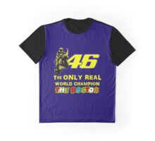 VR46, Valentino Rossi the Legend, MotoGp World Champion Graphic T-Shirt