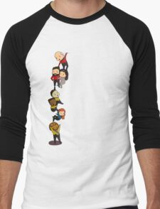 Chibi TNG Crew Men's Baseball ¾ T-Shirt