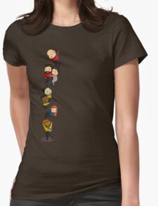 Chibi TNG Crew Womens Fitted T-Shirt