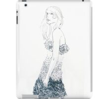 Dressed up iPad Case/Skin