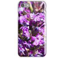 Tiny Bright Purple Flowers iPhone Case/Skin
