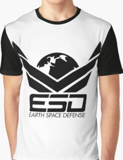 ESD - Earth Space Defense Graphic T-Shirt