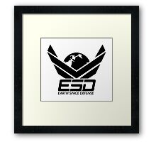 ESD - Earth Space Defense Framed Print