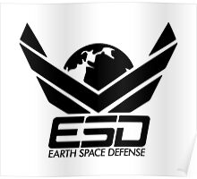 ESD - Earth Space Defense Poster