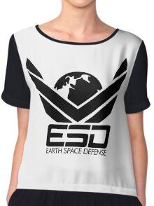 ESD - Earth Space Defense Chiffon Top