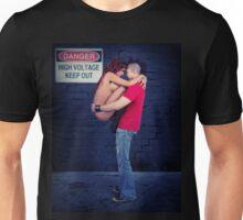 Danger High Voltage - Sexy Alt Couple - Mohawk Unisex T-Shirt