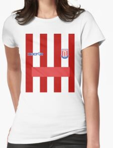 Premier League Team - Stoke City FC Womens Fitted T-Shirt